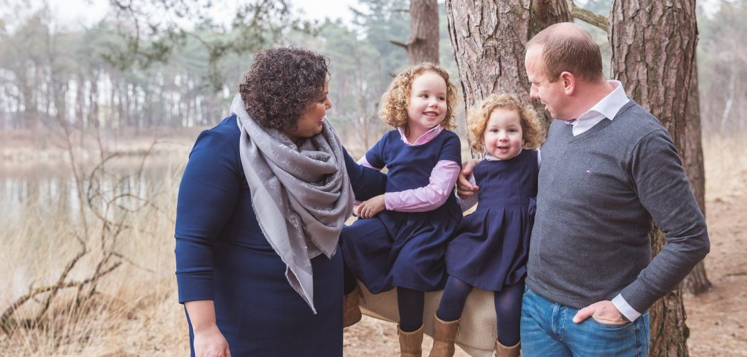familieshoot in het bos oisterwijk