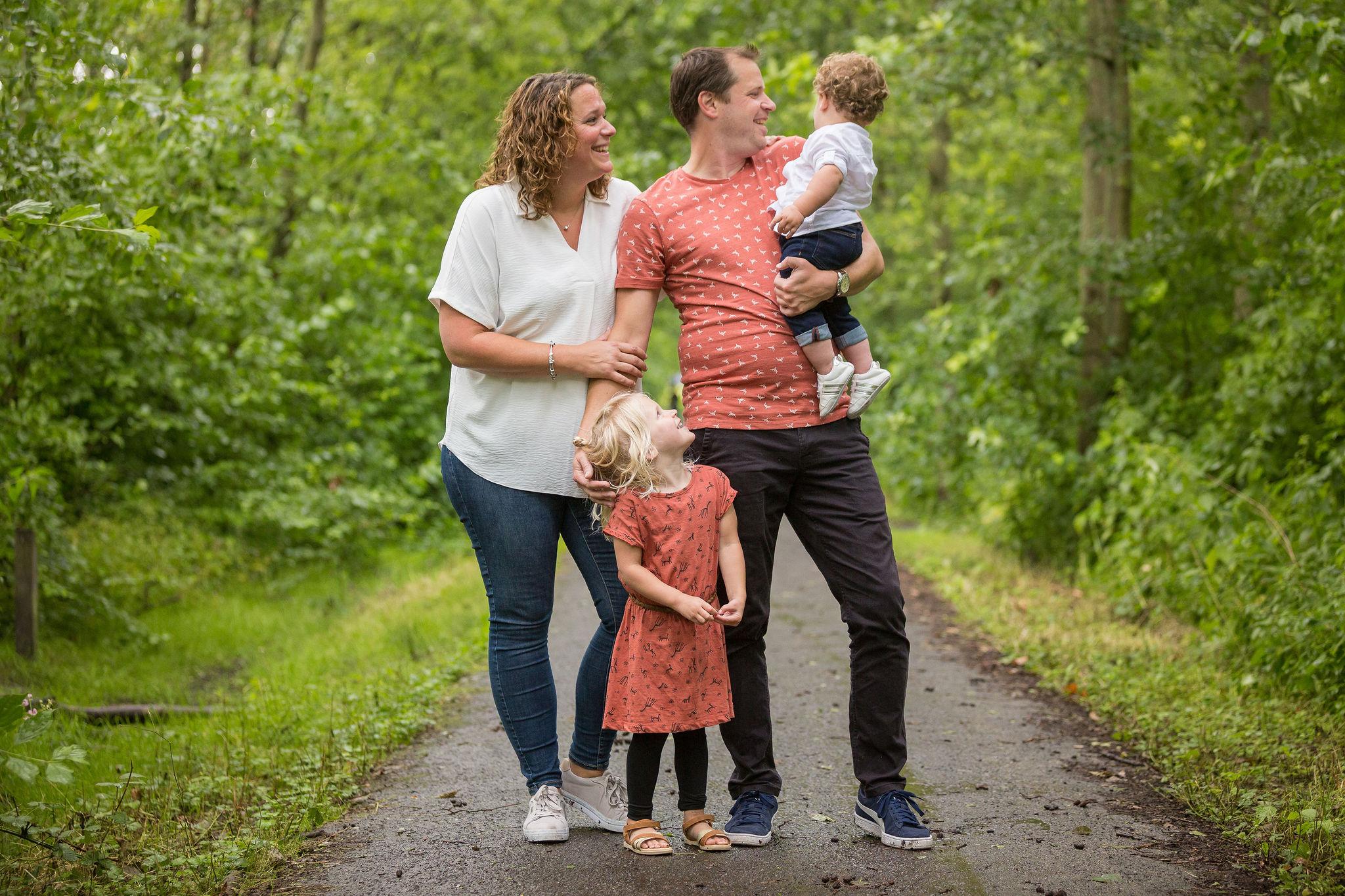 Fotoshoot gezin
